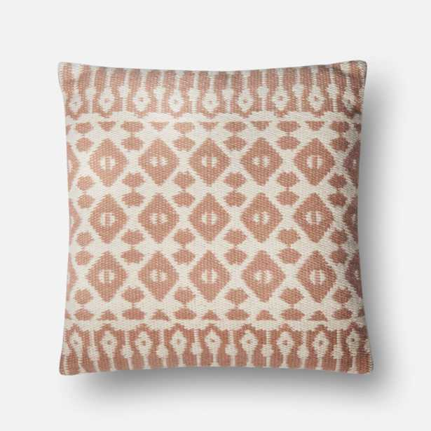 PILLOWS - BLUSH / IVORY w/ poly insert - Loma Threads