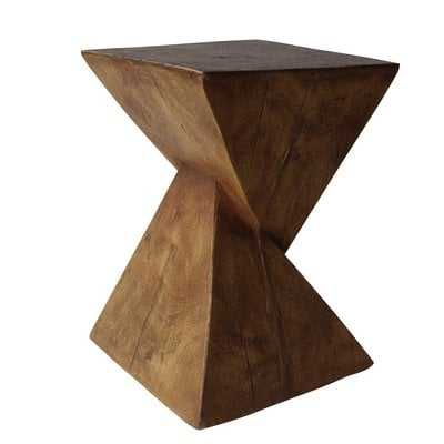 Hurley Outdoor Light-Weight Concrete Accent Table - Wayfair