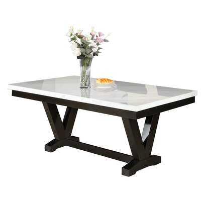 Cedric Marble Top Dining Table - Wayfair