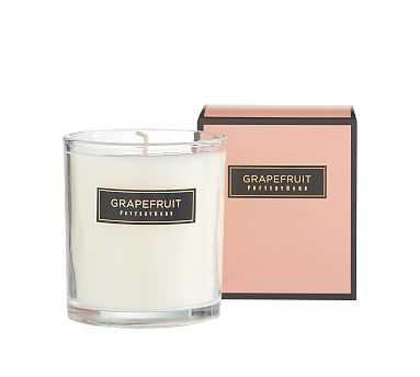 Signature Homescent Candlepot, Grapefruit - 9oz. - Pottery Barn