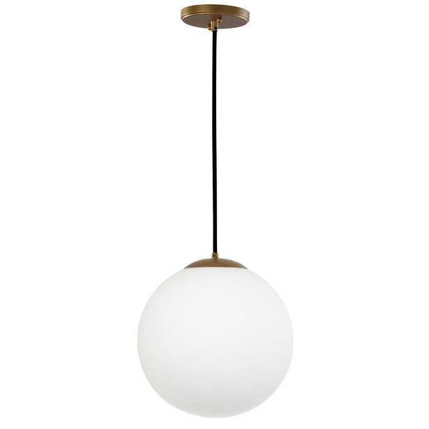 Safavieh Nelda 1-Light Gold Pendant - Home Depot