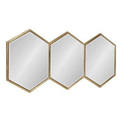Ganya Hexagon Trio Wall Mirror - Wayfair