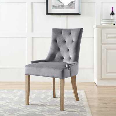 Lenoir Velvet Upholstered Dining Chair - Wayfair