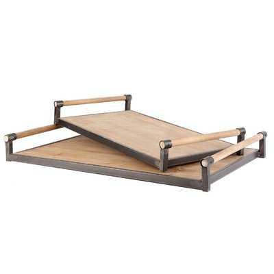 Cawthon 2 Piece Accent Tray Set - Birch Lane