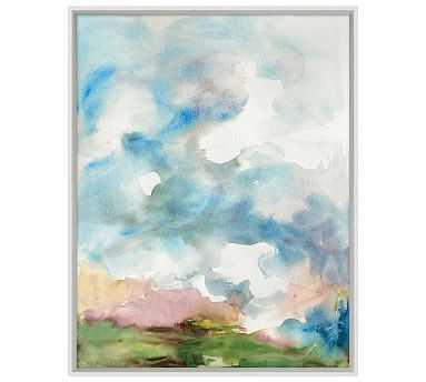 "April Showers Framed Print, 25 x 32"" - Pottery Barn"