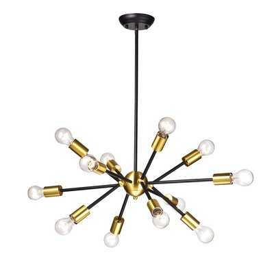 Dorcia 12-Light Sputnik Chandelier - Wayfair