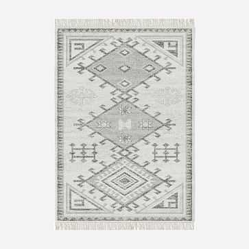 MTO Cordoba Rug, Ivory, 6x9 - West Elm