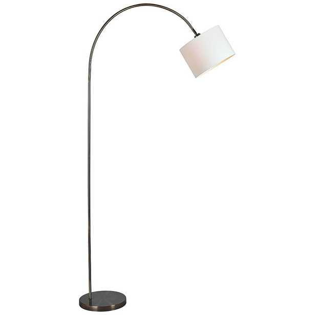 Kenroy Home Archer Antique Brass Metal Arc Floor Lamp - Style # 65K73 - Lamps Plus
