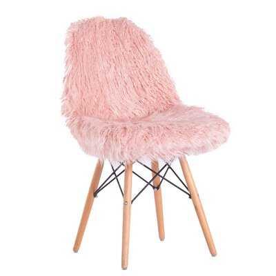 Engles Fuzzy Side Chair - Wayfair