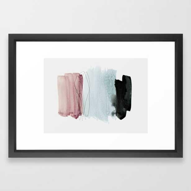 minimalism 4 Framed Art Print by Patternization - Society6