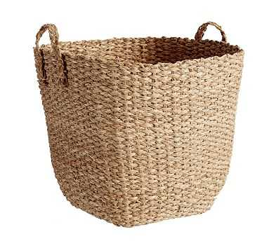 Ibiza XL Tote Basket, Honey - Pottery Barn