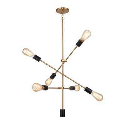 Methuen 6-Light Sputnik Chandelier - Wayfair