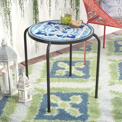 Hayley Outdoor Side Table - Wayfair