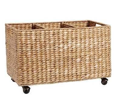 Savannah Handwoven Seagrass Sorting Basket - Pottery Barn