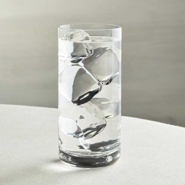 Crescent 16 oz. Cooler Glass - Crate and Barrel