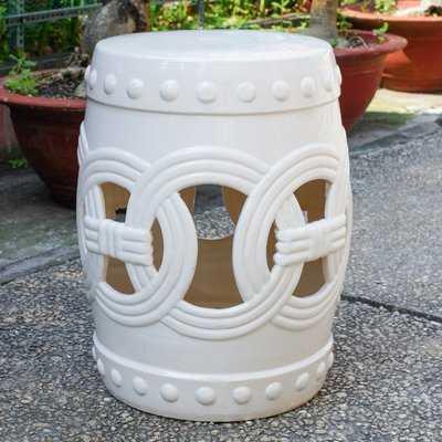 Kilpatrick Feng Shui Ceramic Garden Stool - Wayfair