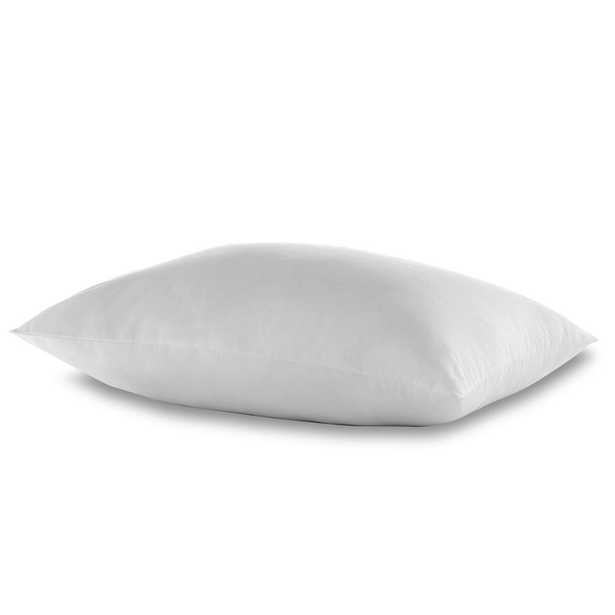 Feather and Down King Sized Pillow, White - Home Depot