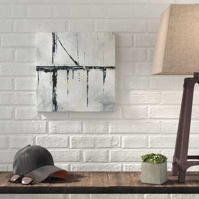'Urban Across' Acrylic Painting Print on Wrapped Canvas - Wayfair