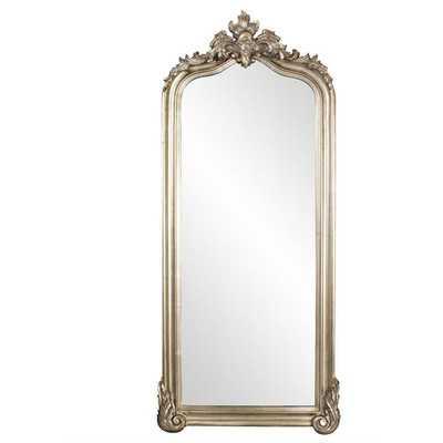 Silver Leafed Wall Mirror - Wayfair