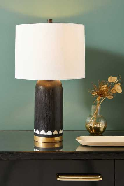Livia Mother-of-Pearl Table Lamp - Anthropologie
