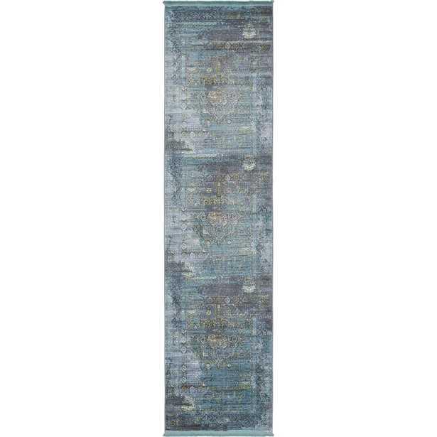 Havana Dark Gray 3 ft. x 10 ft. Runner Rug - Home Depot