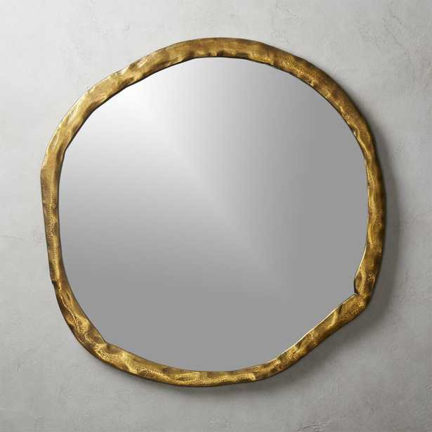 """Abel Round Mirror 34"""" - CB2"""