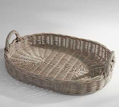 Willow Tray - Gray - Pottery Barn