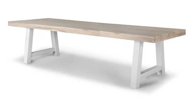 Tavola Driftwood Gray Dining Table for 10 - Article
