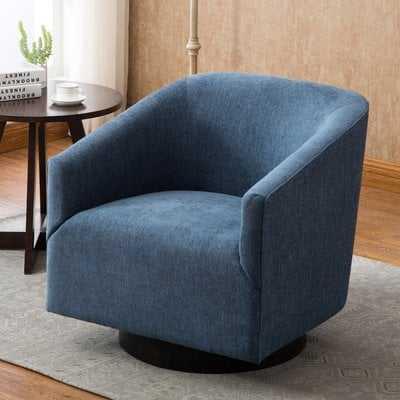 Kylie Swivel Barrel Chair - Wayfair