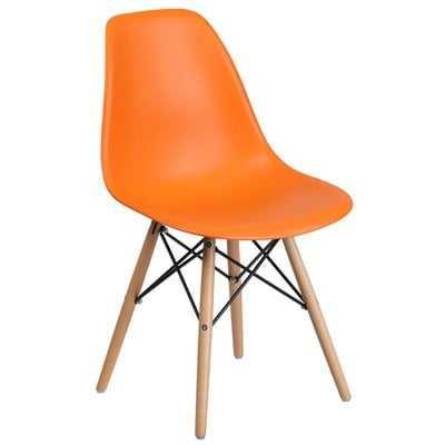 Plastic Dining Chair (Set of 2) - Wayfair
