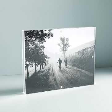 "Acrylic Shadowbox Frame, Clear, 8""x10"" - West Elm"