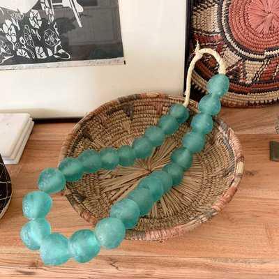 Scoles African Glass Beads - Wayfair