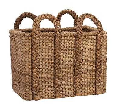 Beachcomber Oversized High Rectangular Basket - Pottery Barn