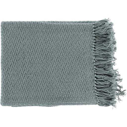 Classic Woven Throw, Gray - Havenly Essentials