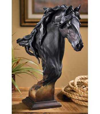 Equus - Horse Bust Sculpture - Wayfair