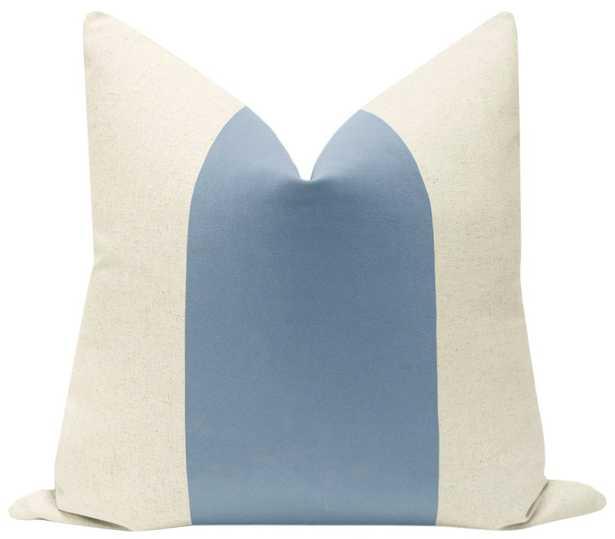 "PANEL :: Signature Velvet // Hydrangea Blue - 22"" X 22"" - Little Design Company"