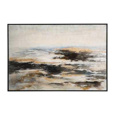 'Aftermath' Framed Print on Canvas - Wayfair