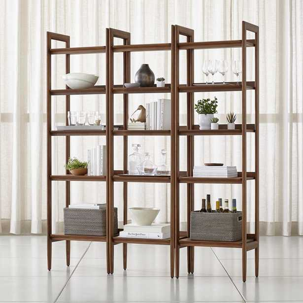 Tate Bookcases, Set of 3 - Crate and Barrel