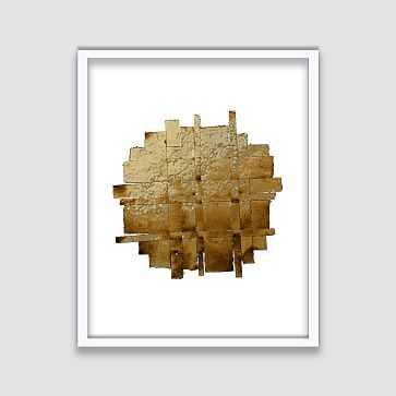 The Arts Capsule Framed Print, Weaving 4 - West Elm