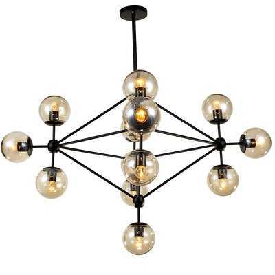 Dortch 15 - Light Sputnik Modern Linear Chandelier - Wayfair