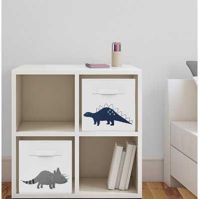 Dinosaur Fabric Storage Cube - Wayfair