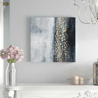 Down The River Abstract by Oliver Gal - Wrapped Canvas Painting Print - AllModern