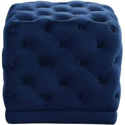 Bonita Tufted Cube Ottoman - Wayfair