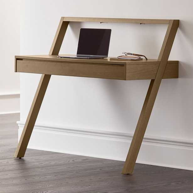 Batten Wall-Mounted Desk - Crate and Barrel