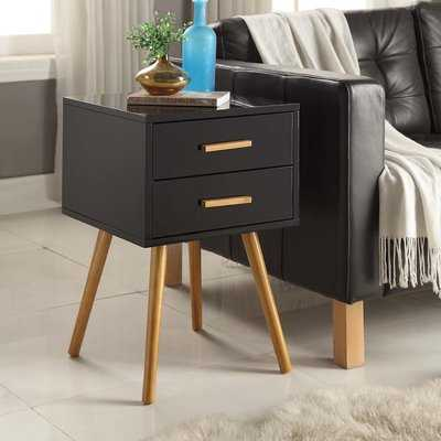 Delilah End Table With Storage - Wayfair