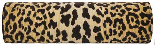 """The Little Bolster :: Leopard Velvet - 12"""" X 18"""" - Little Design Company"""