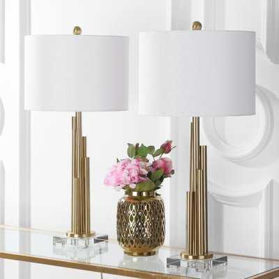 "Lacayo 32"" Table Lamp Set - AllModern"