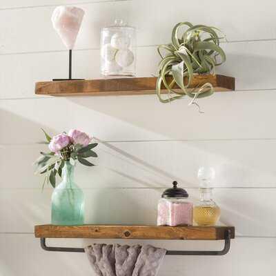 Drew 2 Piece Wall Shelf Set - Wayfair