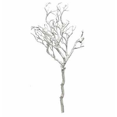 Glittered Metallic Manzanita Branch - Wayfair