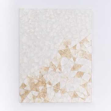 Capiz Wall Art, Crystal Formation - West Elm
